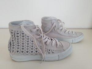 Converse Zapatillas altas gris claro Gamuza