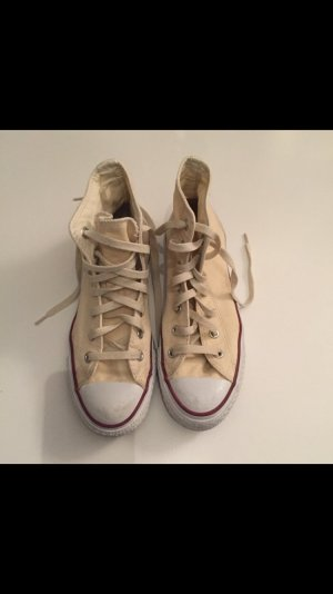 Converse Chucks, High,  beige, Gr.: 38