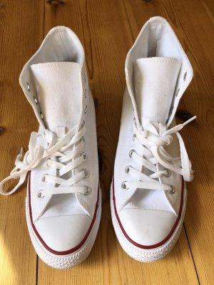 Converse - Chucks - High top - weiß - Größe 40/ US 9
