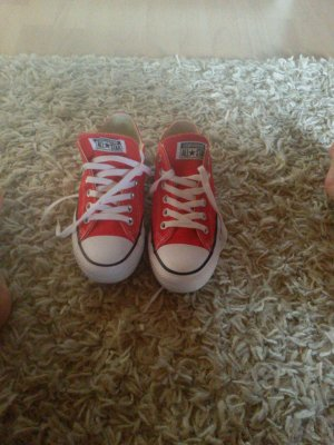 Converse Chucks in Rot