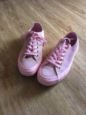 Converse Lace-Up Sneaker pink-light pink