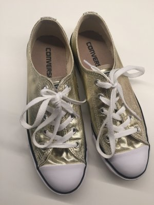 Converse Chucks low, Gold, 38, neu