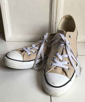 Converse Chucks low, hellbraun/beige
