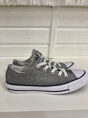 Converse chucks low silber gr 36,5