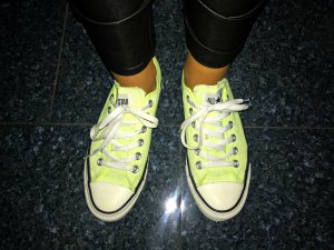 Converse Sneakers neon yellow