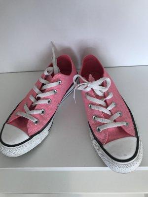 Converse Sneaker stringata fucsia neon