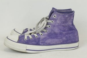 Converse Chucks Sneaker High Tops lila Gr. 41 acid washed