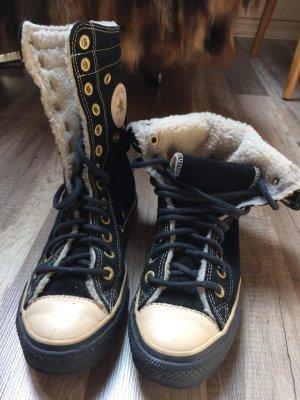 Converse Chucks Sneakers aus Leder gefüttert