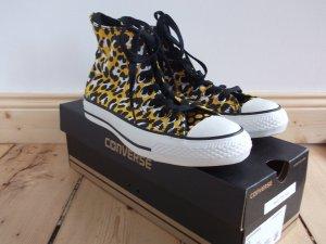 Converse Chucks ungetragen Limited Edition Leoprint Gr. 5,5