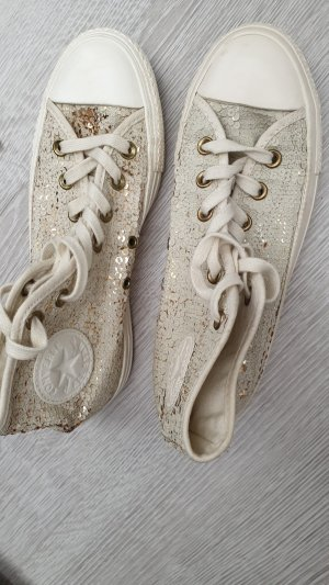 Converse Lace-Up Sneaker natural white-sand brown