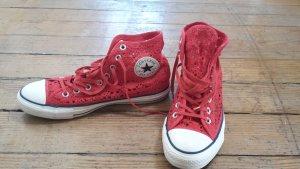 Converse Crochet rot, gehäkelt, 40