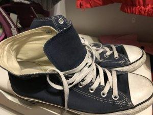 Converse Zapatos brogue azul Algodón