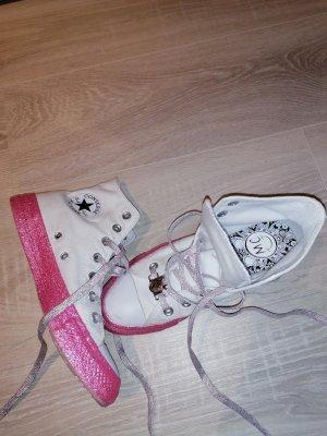 Converse Zapatilla brogue blanco-rosa claro