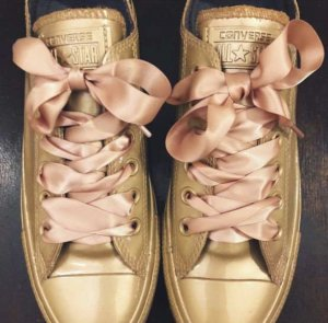 Converse Gold 39 Satin beige Neu nude bronze