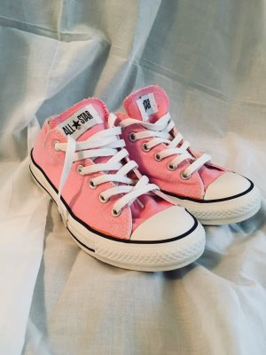 Converse Lace Shoes pink-pink