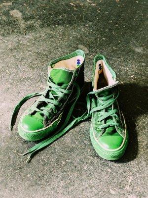 Converse Hi Top all green Special editon