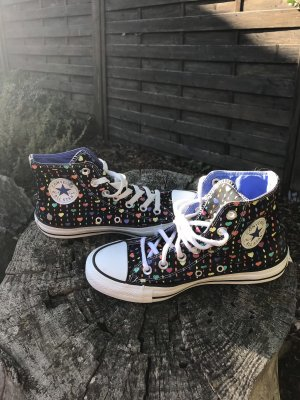 Converse high Gr 36,5. tolles Muster