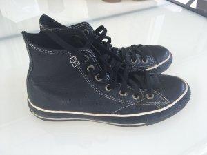 Converse high sneakers gr 39 Leder !!