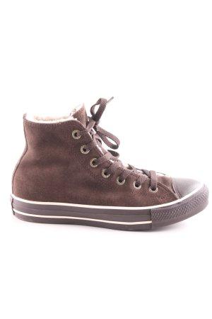 Converse High Top Sneaker braun Casual-Look