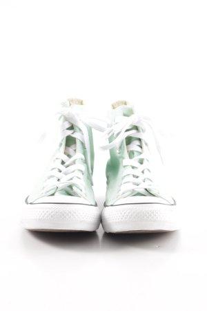 Converse High Top Sneaker türkis-weiß Casual-Look