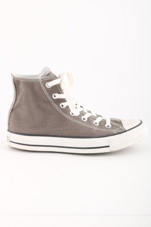 Converse High Top Sneaker braun-weiß Casual-Look