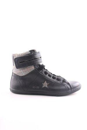 Converse High Top Sneaker schwarz Karomuster Casual-Look