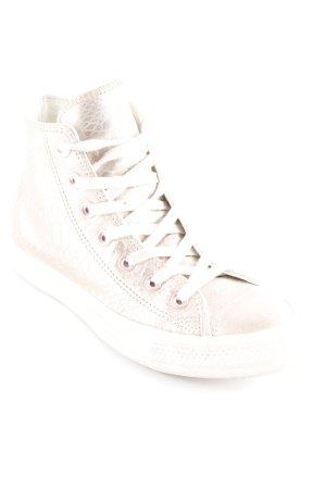 Converse High Top Sneaker altrosa Schimmer-Optik