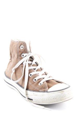 Converse High Top Sneaker braun-wollweiß Casual-Look