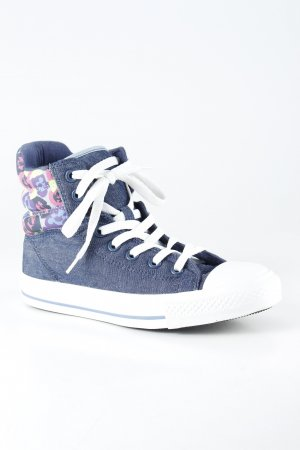 Converse High Top Sneaker Camouflagemuster Street-Fashion-Look