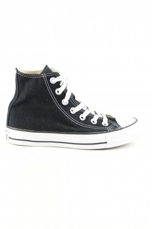 Converse High Top Sneaker schwarz Casual Look
