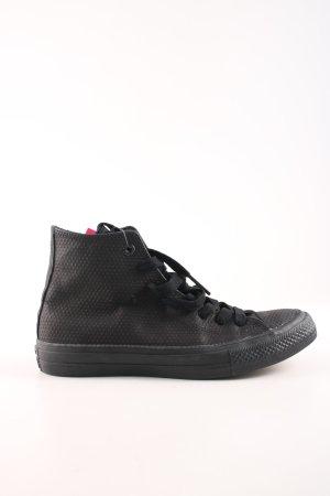 Converse High Top Sneaker schwarz Punktemuster Casual-Look