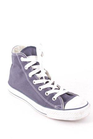 Converse High Top Sneaker dunkelblau Casual-Look