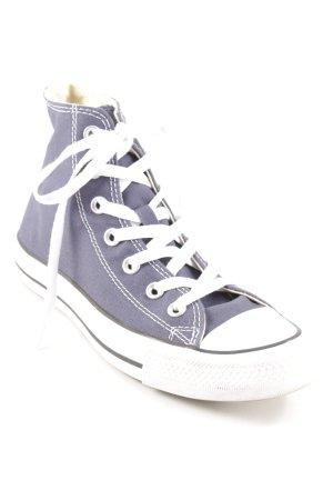 Converse High Top Sneaker dunkelblau-weiß Casual-Look