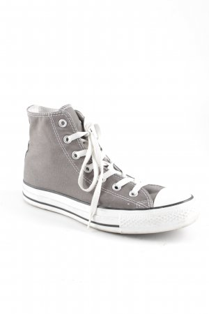 Converse High Top Sneaker grau-weiß Casual-Look