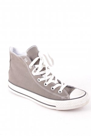 Converse High Top Sneaker grüngrau Casual-Look