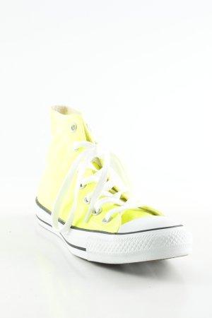 Converse High Top Sneaker limettengelb extravaganter Stil