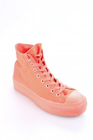 Converse High Top Sneaker neonorange sportlicher Stil