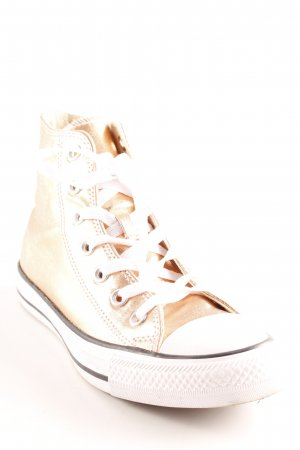 Converse High Top Sneaker roségoldfarben Casual-Look
