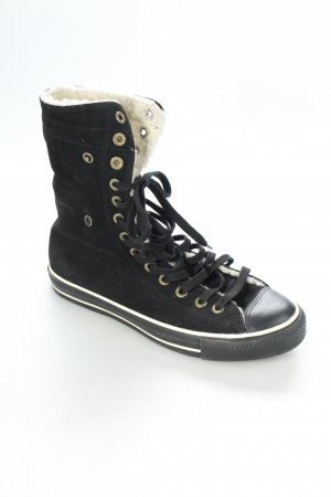 Converse High Top Sneaker schwarz Matt-Optik