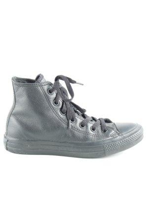 Converse High Top Sneaker schwarz sportlicher Stil