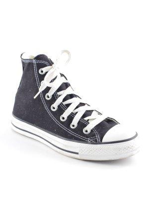Converse High Top Sneaker schwarz-weiß Casual-Look