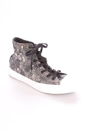 Converse High Top Sneaker schwarz-weiß sportlicher Stil