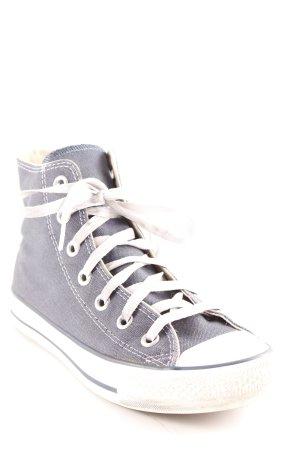 Converse High Top Sneaker stahlblau Casual-Look