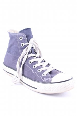 Converse High Top Sneaker steel blue athletic style