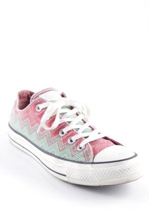 Converse High Top Sneaker Zackenmuster Casual-Look