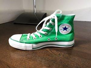 Converse hoch in grün