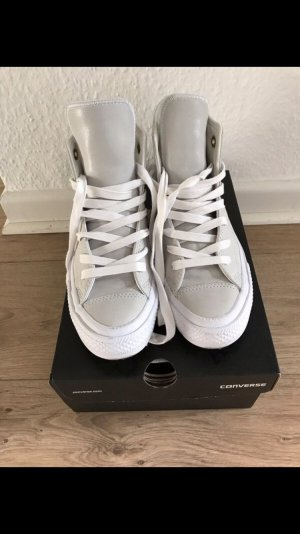 Converse Zapatos de patinador blanco-gris claro