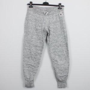 Converse Sweat Pants silver-colored cotton