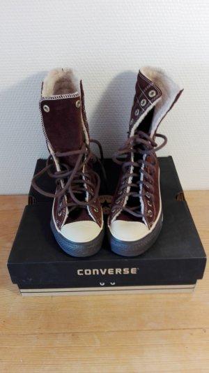 Converse, Leder, kuschelig warm, 37,5
