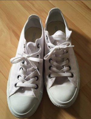 Converse Low komplett weiß